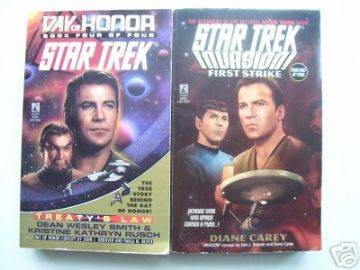 Star Trek Books  RARE
